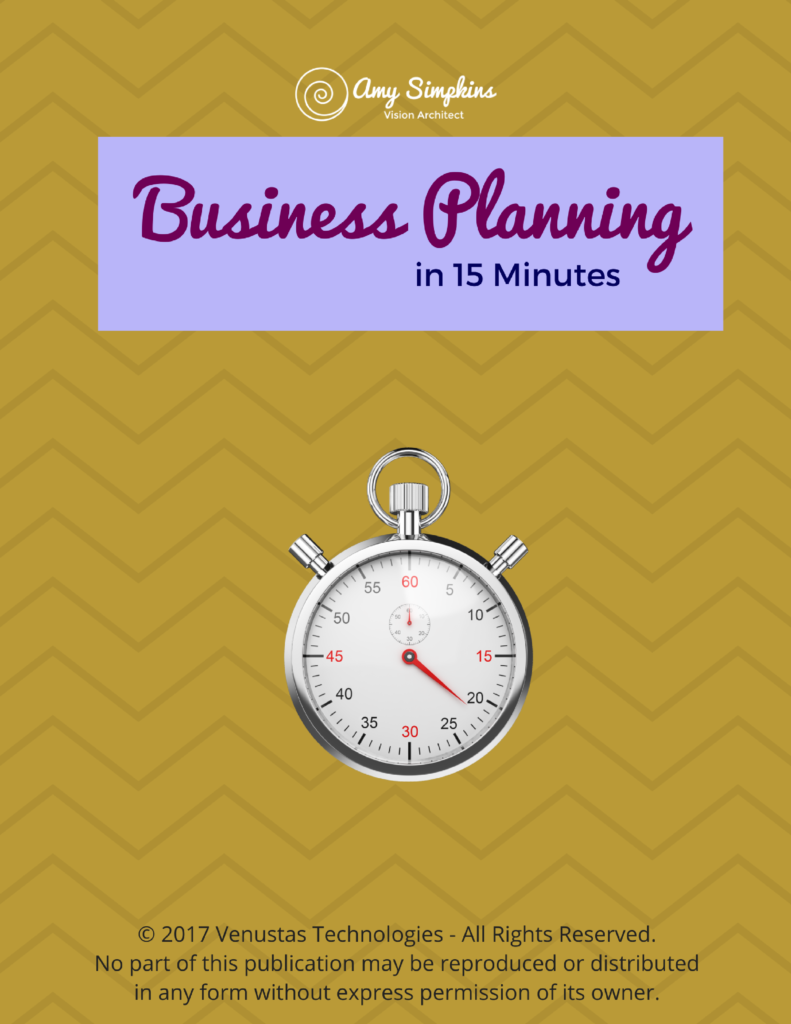 Business Planning in 15 Minutes